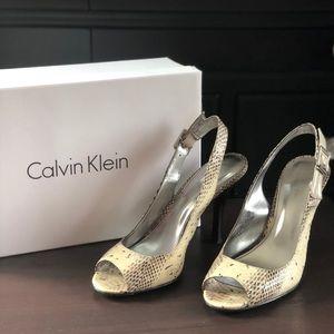 Calvin Klein Kona Snake/Patent